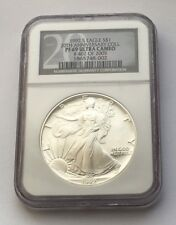1992 S PROOF SILVER EAGLE DOLLAR 20TH ANNIVERSARY COLL NGC PF 69 ULTRA CAMEO