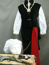 Pirate Lady Colonial 18th Century Wench Tavern Maid