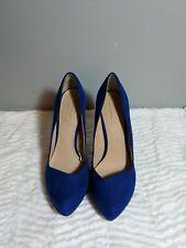 zara trafaluc heels Cobalt blue European size 39