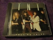 TNT cd TELL NO TALES made in west germany tony harnell t.n.t. free US shipping