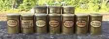 alte Apothekerdosen/Aufbewahrung/Behälter, um 1920, Sammlung
