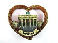 Berlin Brandenburger Tor Poly Fridge Magnet Herz Souvenir Germany Deutschland