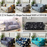 1/2/3/4 Seat Ins Style Sofa cover Simple Printed Elastic Slipcover Home Decors