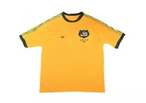 Vintage Socceroos 1974 World Cup Umbro Australia Jersey Rare
