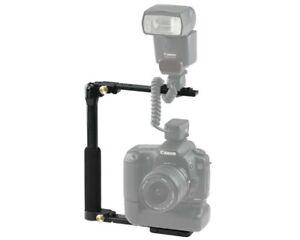 Custom Brackets CB Folding-T Camera Flash Bracket