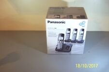Panasonic Kx-Tge234B Dect 6.0 4 Digital Cordless Phones and Answering System