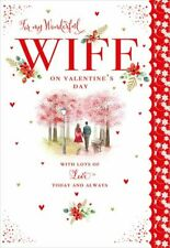 Valentines Day Card Wife Romantic Walk