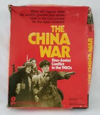 1979 The China War Board Game Sino Soviet Conflict In The 1980s Original Box