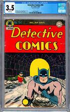 DETECTIVE COMICS #94 CGC 3.5 CLASSIC *GOLDEN AGE BATMAN CVR* FINGER SPRANG 1944