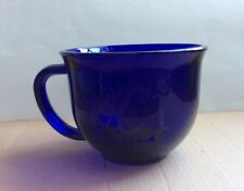 cobalt blue glass mugs eBay