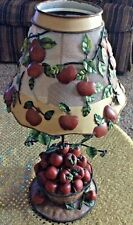 12 Inch Apple Tree Lamp Candle Holder Collectible Home Decor
