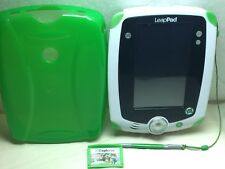 LeapFrog Leappad Learning Game System Green With Stylus And Game