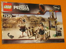Lego Set 7570 INSTRUCTIONS ONLY Prince of Persia The Ostrich Race Manual Booklet