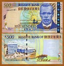 Malawi, Africa, 500 Kwacha, 2005, P-56 (56a), UNC > OVD Strip