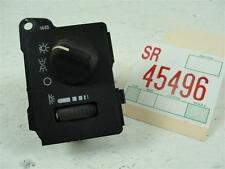 1993-2002 PONTIAC FIREBIRD TRANS AM FRONT HEADLIGHT SWITCH CONTROL DIMMER PANEL