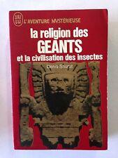 J'AI LU AVENTURE MYSTERIEUSE N° A 206 RELIGION GEANTS CIVILISATION SAURAT