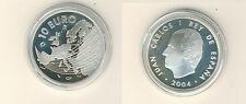 España 10 euro 2004 ampliación de la UE plata pp (m00423)