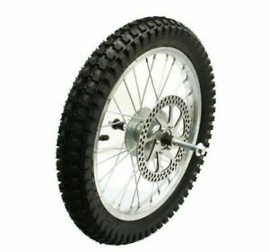 MX 500 mx650 Complete Front Wheel Assembly for Razor MX500/MX650