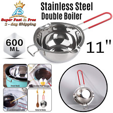 Chocolate Melting Stainless Steel Double Boiler Pot Wax Melter For Butter Candy
