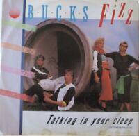"""BUCK FIZZ - Talking In Your Sleep ~ 12"""" Single PS"""
