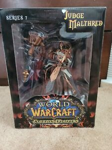 WoW World of Warcraft Human Paladin Judge Malthred PVC Action Figure Sealed New