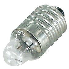 5x NF Breitlinsen Glühlampe; 2,2 V DC; 0,25 A; E10/13; Linsen-Lampe, Miniatur