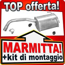 Scarico FIAT 500 500C PANDA II FORD KA 1.1 1.2 2003-2012 Marmitta TTJ