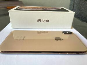 Apple iPhone XS Max - 256GB - Gold (Unlocked) A2101 (CDMA + GSM)