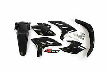 Yamaha WR450F 2012 2013 2014 2015 Black Plastic Kit Plastics WRF-NR0-404