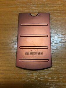 Genuine Samsung GT-B2710 (B2710) Solid - Battery / Back Rear Cover - Copper