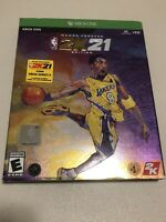 NBA 2K21 Mamba Forever Edition Microsoft Xbox One XB1 2020 Open Return - READ
