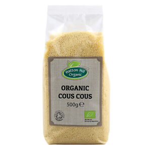 Organic White Cous Cous / Couscous 500g Certified Organic
