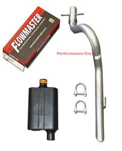 1991 - 1996 Jeep Wrangler Performance Exhaust w/ Flowmaster Original 40 Muffler