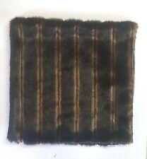 """The Pillow Collection Elizabeth Faux Mink Fur Pillow Case: 18"""" x 18"""" (NO INSERT)"""