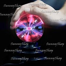 Plasma Ball Lamp Lighting Party Crystal Touch Sensitive Disco Globe 6 inch