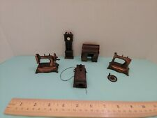 Lot of 5 Vintage Diecast Metal Pencil Sharpeners Wall Phone+ Miniature