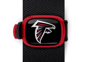Atlanta Falcons Bag Wrap ID Luggage Backpack Bag NFL Red Black STWRAP