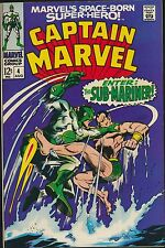 Captain Marvel #4, VF+, Newly Acquired Collection