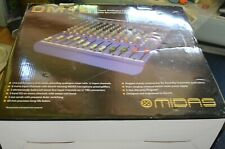 Midas DM12 boxed. Used once> great analogue mixer with swept mid range & Inserts