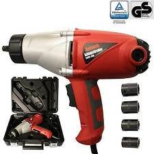 """Heavy Duty Electric Impact Wrench  1/2"""" Drive and 4 Sockets 450NM TORQUE 1000W"""