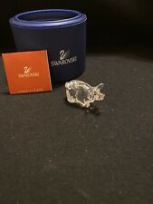 Swarovski Figurine Zodiac Pig With Original Box And Coa Free Shipping