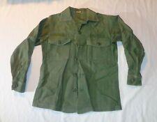 US Army Sateen OG 107 Type 1 Shirt Long Sleeve DSA 100-70-C-0322 by U & W Ind.
