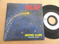 """DISQUE 45T DE ALEF  """" ADONE OLAM """""""