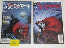 Lot of 2 DC Batman Scratch Issue 1 & 2 Comics Comic Books + Cover
