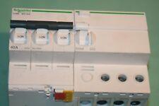 Bloc Disjoncteur différentiel IC60L MA 3P 40A A9F90340 VIGI 300mA A9V14363