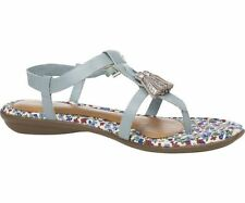 Hush Puppies Women's 100% Leather Ankle Straps Sandals & Beach Shoes