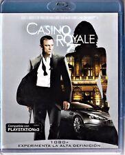 James Bond CASINO ROYALE con Daniel Craig BLU-RAY Tarifa plana envío España 5 €