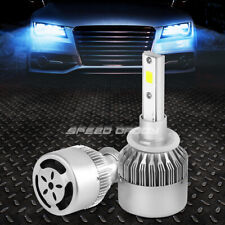 ALL IN ONE PAIR 6000K LED HIGH/LOW BEAM 880 HEADLIGHT BULBS KIT w/COOLING FAN