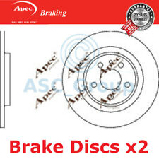 2 X Apec BRAKING 272mm Solide Original Qualität Ersatz Bremsscheiben ( Paar