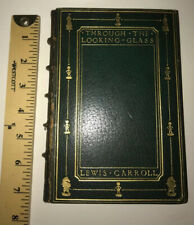 ALICE IN WONDERLAND,THROUGH THE LOOKING GLASS!(FIRST EDITION/PRINTING!)1872 wade